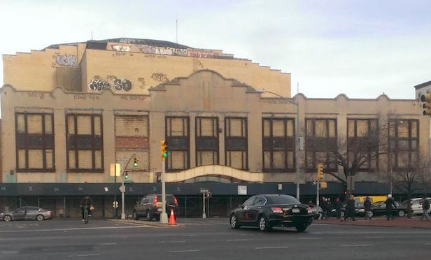 Former RKO Keith's Theater at 135-35 Northern Boulevard in Flushing, Queens