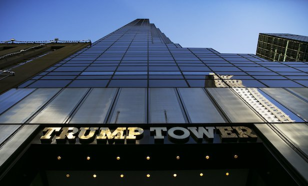 Trump Tower/ Photographer: Allison Joyce/Bloomberg