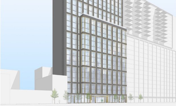 Rendering of 308 Livingston St. in Downtown Brooklyn