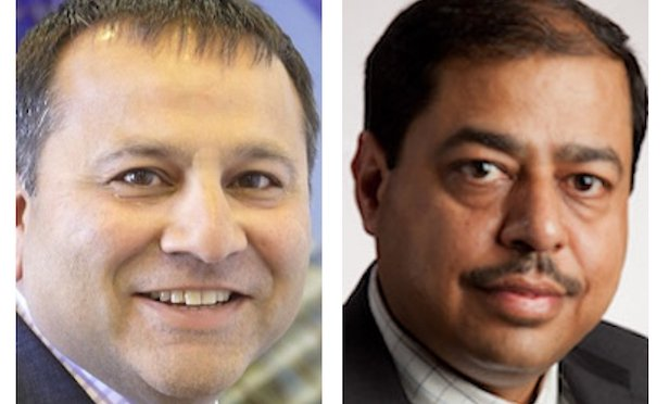 From left: Neil Shah, managing director of RICS in the Americas, Anil Sawhney, director of infrastructure sector for RICS