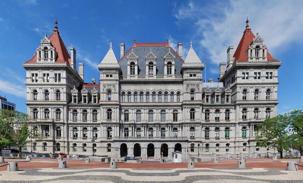 New York State Capitol in Albany/ Photo credit: Photo: Matt H. Wade via Wikipedia