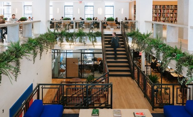 WeWork New York City HQ/ Photo credit: The We Company