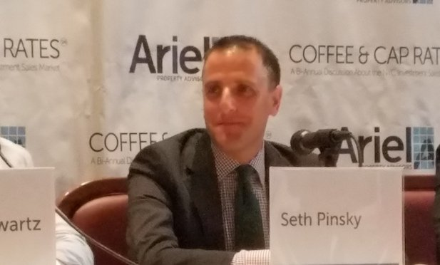 Seth Pinsky, EVP and fund manager at RXR Realty, panelist at Ariel Properties' event